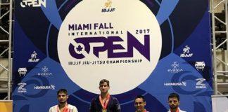 Osvaldo Queixinho foi campeão no Miami Open e agora disputará o GP do Berkut (Foto: Divulgação)