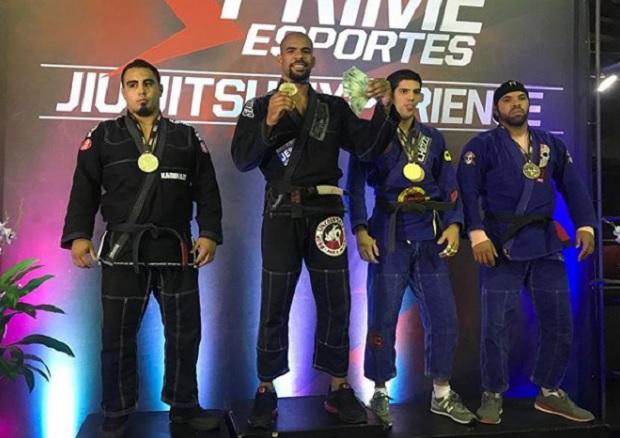 Com Erberth e Marcos Pezão campeões, Prime Esportes Jiu-Jitsu Experience faz sucesso em estreia