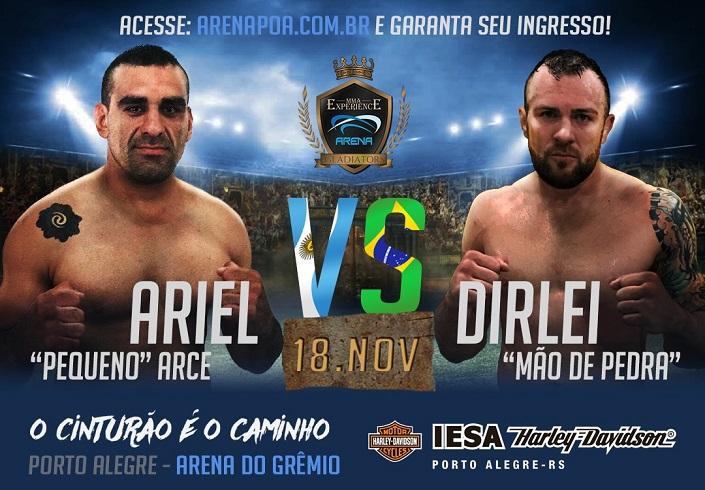MMA Experience – Arena Gladiators segue com venda de ingressos a um mês do evento no estádio do Grêmio