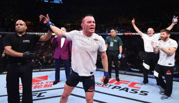 Covington vem provocando Tyron Woodley, também atleta da ATT (Foto Getty Images / UFC)