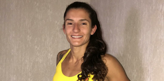 Luanna Alzuguir finalizou adversária em sua estreia no MMA amador (Foto: Reprodução)