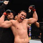 Marcelo Golm estreou com grande vitória e foi destaque no card preliminar (Foto Getty Images / UFC)
