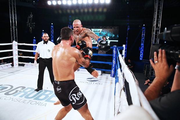 Bruno Gazani é um dos principais atletas do WGP Kickboxing atualmente (Divulgação WGP)