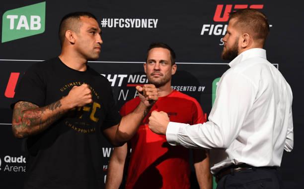 Fabrício Werdum é o grande favorito para luta principal do UFC Sydney, segundo site de aposta