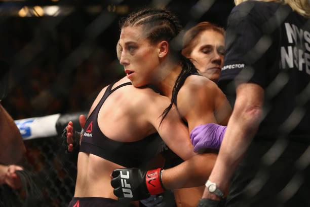 Joanna quer 'revanche' e aponta para vitória de Namajunas: 'Grande surpresa'