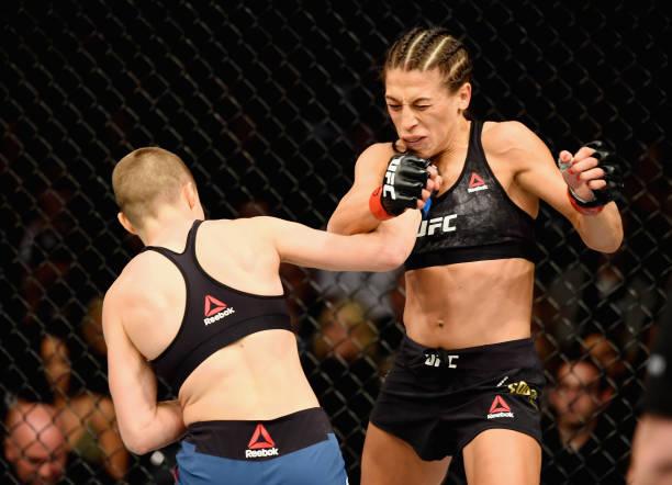 Vídeo: confira os nocautes de Rose Namajunas e TJ Dillashaw que garantiram cinturões no UFC 217