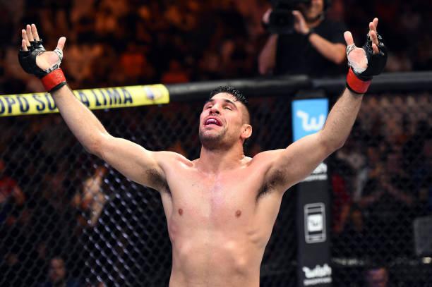 Com cinco vitórias em seis lutas, Vicente Luque mira Top 15: 'Está na hora de pegar os nomes grandes'