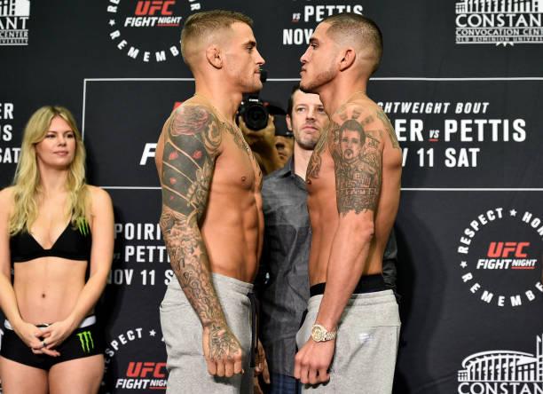 Em busca do topo, Pettis e Poirier lutam no main event do UFC Norfolk; seis brasileiros entram em ação