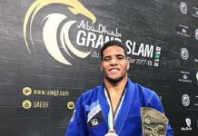 Isaque Bahiense ficou com o ouro na divisão até 85kg do Grand Slam do Rio de Janeiro (Foto: Divulgação)
