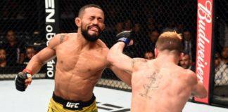 Deiveson Alcântara saiu vencedor por decisão dividida dos jurados no UFC São Paulo (Foto: Getty Images)