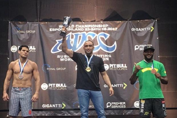 Bi do ADCC, Yuri Simões celebra ouro em nova categoria: 'É ainda mais difícil se manter como campeão'
