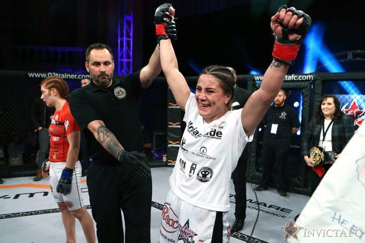 Jennifer Maia mantém cinturão no Invicta FC 26, e Mackenzie Dern estreia com grande vitória; saiba mais