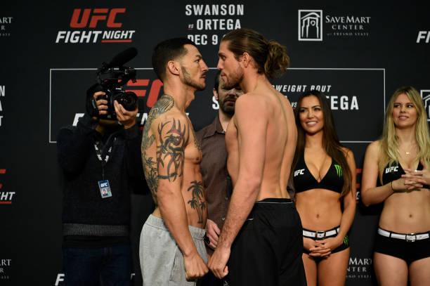 Swanson e Ortega comandam card do UFC Fresno; cinco brasileiros em ação
