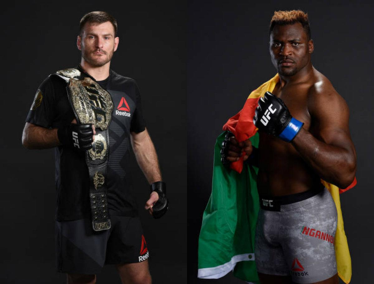 Miocic vai defender cinturão dos pesados contra Ngannou no UFC 220