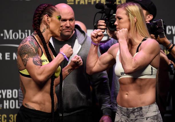 Cyborg e Holm lideram o UFC 219 em embate histórico; co-main event define futuro nos leves