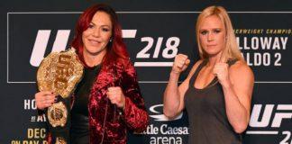 Holly Holm estaria disposta a dar revanche a Cyborg caso saia vencedora no UFC 219 (Foto: Getty Images)