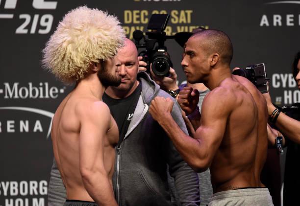 Vídeo: reveja a pesagem e os melhores momentos das encaradas oficiais antes do UFC 219