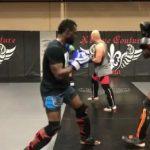 Uriah Hall vem se preparando com Francis Ngannou para duelo contra Belfort (Foto: Reprodução)