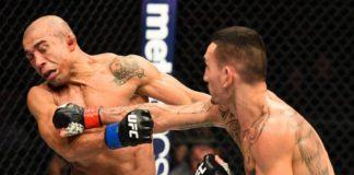 Max Holloway repetiu a boa atuação da primeira luta e voltou a nocautear José Aldo (Foto: Getty Images)