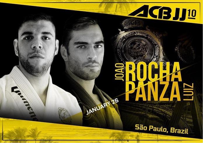 ACB JJ 10: Luiz Panza e João Gabriel prometem 'show' por título peso-pesado na luta principal; confira