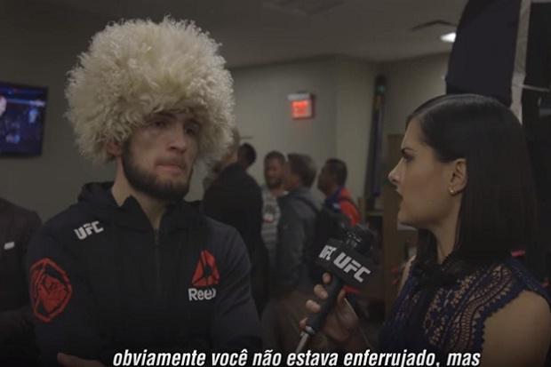 Vídeo: Khabib revela 'erros' em vitória sobre Barboza no UFC 219, mas aponta: 'Feliz com a performance'