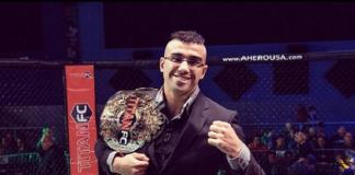 Raush quer manter o bom desempenho para alçar voos maiores no MMA (Foto: Titan FC)