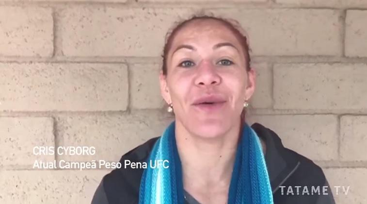 Enquete TATAME: após polêmica com Cyborg, personalidades da luta comentam sobre o MMA feminino