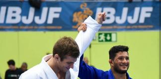 Lucas Hulk faturou o ouro no absoluto ao fechar com Keenan Cornelius na final (Foto: FloGrappling)