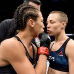 Rose Namajunas fará sua primeira defesa de título em revanche contra a ex-campeã Joanna (Foto: Getty Images)