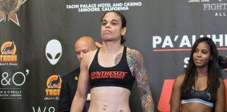 Livia Renata Souza teve sua estreia no UFC adiada por conta de uma lesão na mão (Foto: Invicta FC)