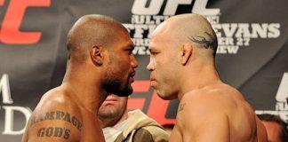 Rampage Jackson e Wanderlei Silva já se enfrentaram três vezes, sendo a última no UFC (Foto: Getty Images)