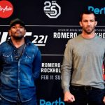 Luke Rockhold é visto como favorito para duelo contra Romero no main event do UFC 221 (Foto: Getty Images)