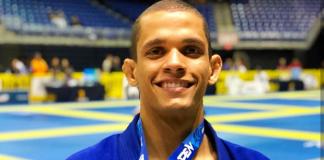 No masculino faixa-preta, destaque para Victor Silvério, campeão no absoluto (Foto: Reprodução)