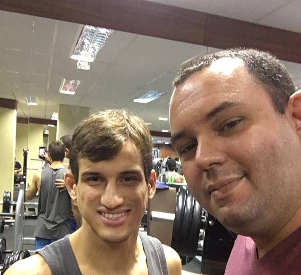 Osvaldo Queixinho brilhou no ACB Jiu-Jitsu em São Paulo com uma bela finalização (Foto: Reprodução)