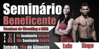 Hugo Wolverine e Lais Nunes vão ministrar seminário beneficente no interior de São Paulo (Foto: Reprodução)