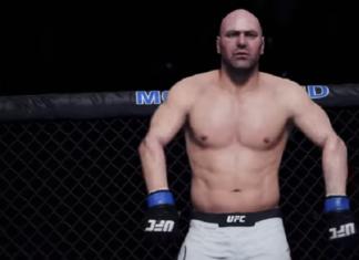 Dana White pode ser utilizado como lutador em novo game do Ultimate (Foto: Reprodução)