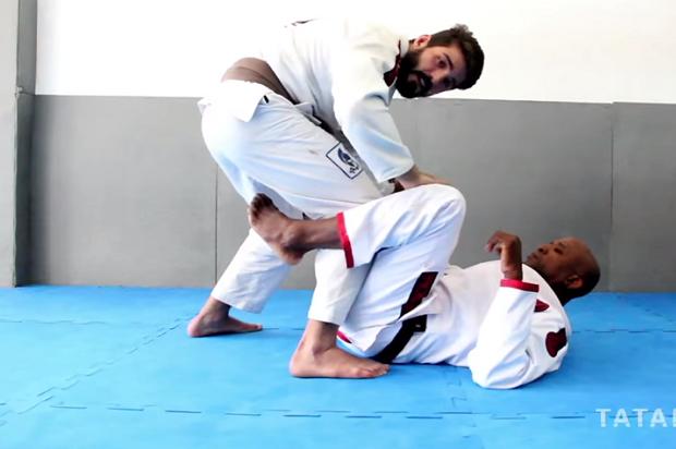 Junto com Marcelo Negrão, Rodrigo Lopes mostrou uma interessante passagem de guarda (Foto: Reprodução)