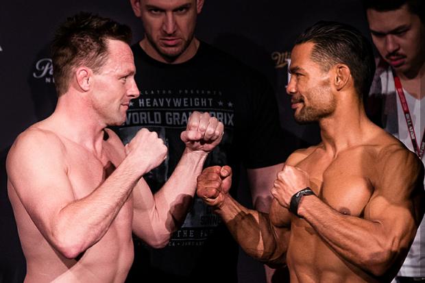 Joe Warren e Joe Taimanglo fazem duelo que pode definir o próximo desafiante ao título dos galos (Foto: Bellator)