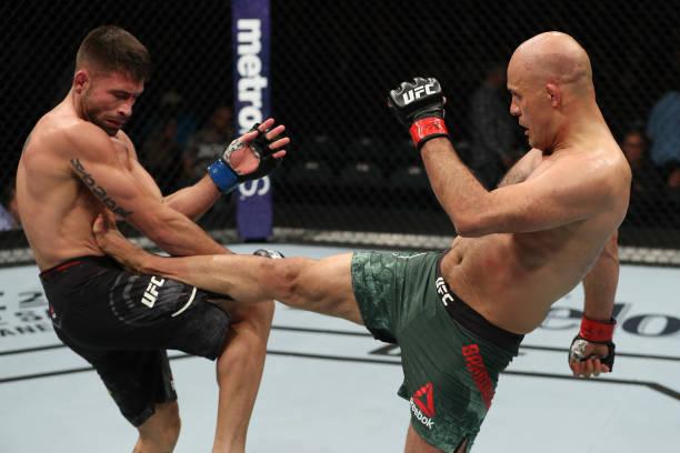 Algozes de brasileiros levam bônus por performance no UFC Atlantic City; Simon x Dvalishvili é a 'Luta da Noite'