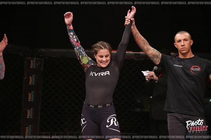 Jennifer vence luta de submission no Imortal FC 8 e projeta estreia no UFC; John Allan finaliza Gameth no MMA