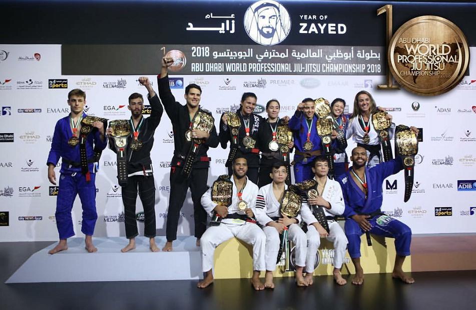 Erberth, Preguiça e faixa-marrom belga lideram lista de campeões no World Pro