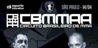 Com bons combates programados, Circuito Brasileiro de MMA acontece neste sábado (14) (Foto: Divulgação)