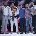 Felipe Preguiça segue como campeão da categoria até 95kg após derrotar Wardzinski (Foto: ACB)