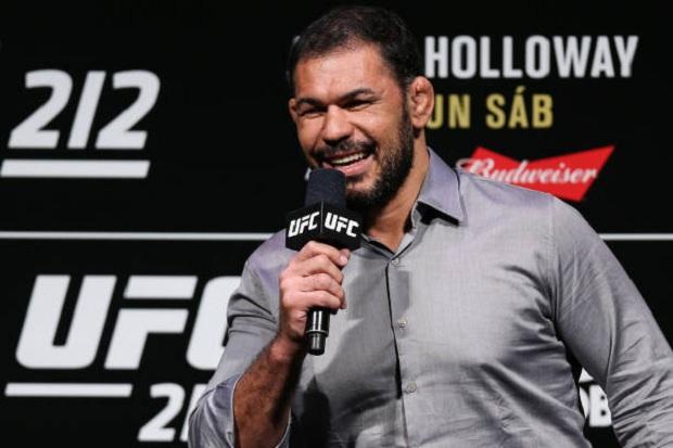 Rodrigo Minotauro terá sua trajetória contada em um documentário que será lançado em abril (Foto: UFC)