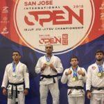 Yuri Simões conquistou o título do absoluto no San Jose Open, da IBJJF (Foto: Reprodução)