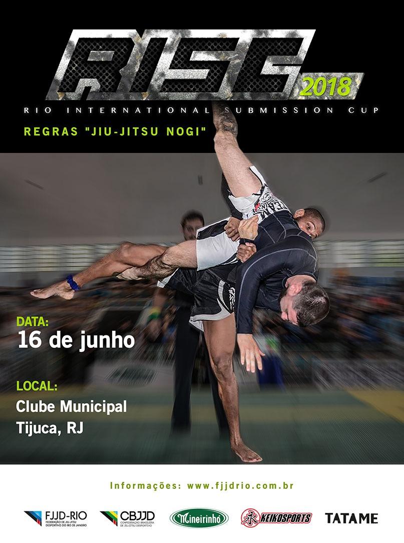 FJJD-Rio anuncia adiamento do Rio International Submission Cup, que seria no próximo dia 16; saiba mais