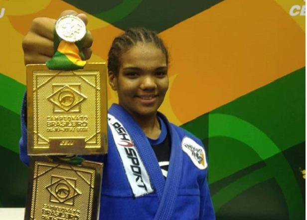 Após ouro duplo no Brasileiro, Gabi Pessanha quer repetir feito no Mundial: 'Minha diversão é lutar'