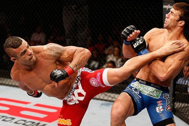Mão pesada e chutes potentes: veja os melhores nocautes de Vitor Belfort em sua trajetória no UFC
