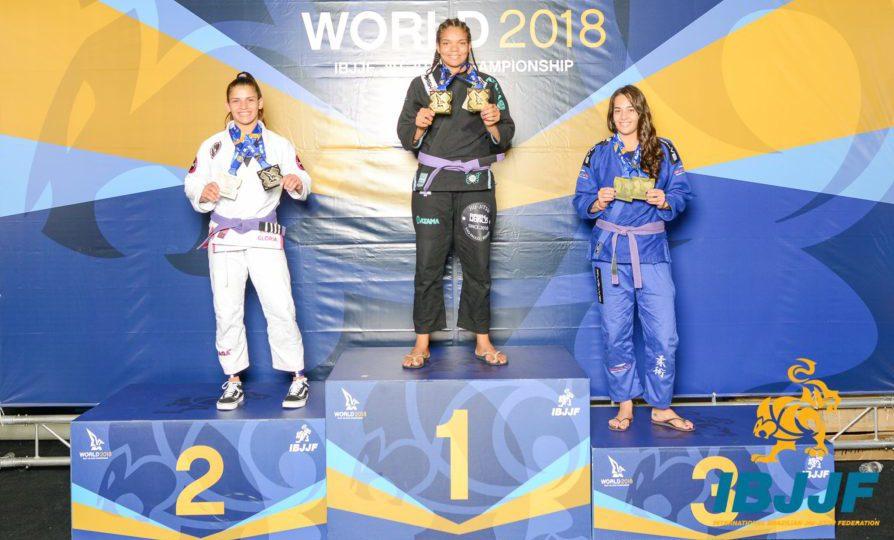 Duplas da Atos e Cícero Costha, Clay, Jimenez e Gabi Pessanha dominam Mundial nas faixas azul e roxa