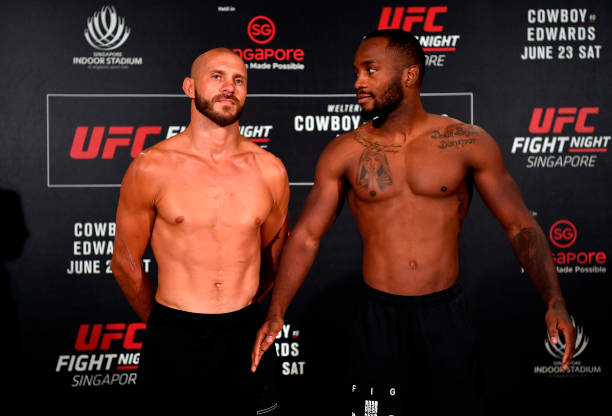 Leon Edwards é visto como favorito diante do veterano Donald Cerrone no UFC Cingapura, aponta site
